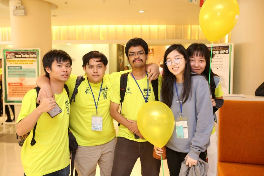 Software Engineering Students participated in the ACM-ICPC 2018 Nakhon Pathom Asia Regional Contest